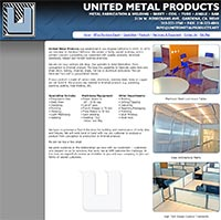 United Metal Products - Home Page