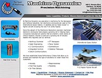 Machine Dynamics, Precision Machining - Home Page